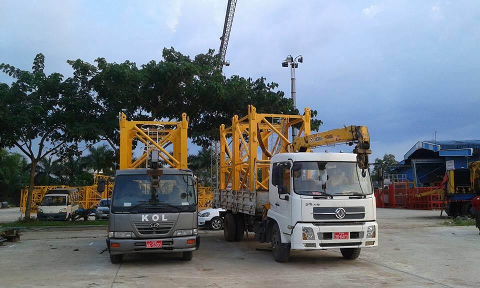 vận chuyển thiết bị xây dựng
