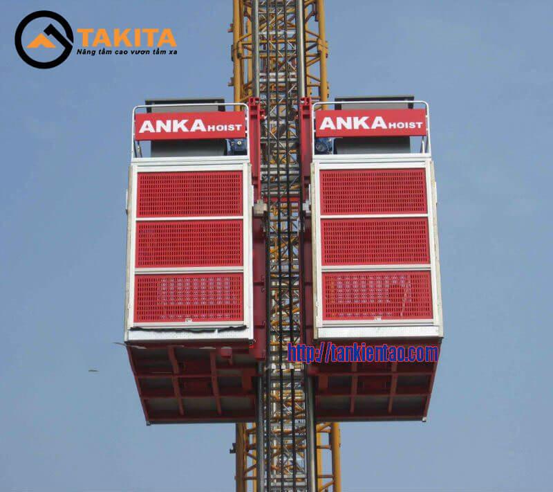 Anka hoist - Giá cho thuê/bán vận thăng