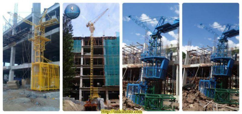 tower crane and hoist intergrated1 e1472954336741 - Vận thăng kèm cẩu mini Hàn Quốc