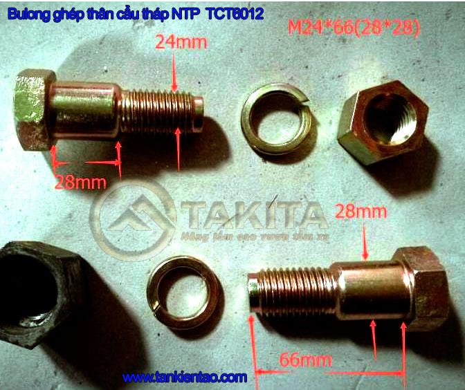 bulong ghép thân cẩu tháp NTP TCT6012