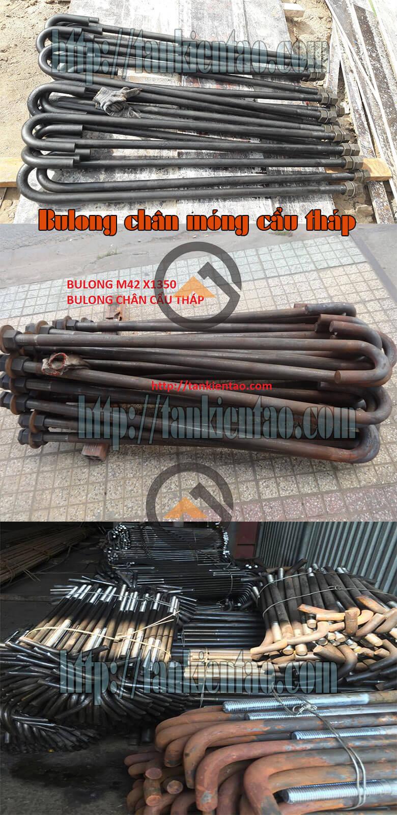 Bulong móng cẩu tháp - Bulong cẩu tháp