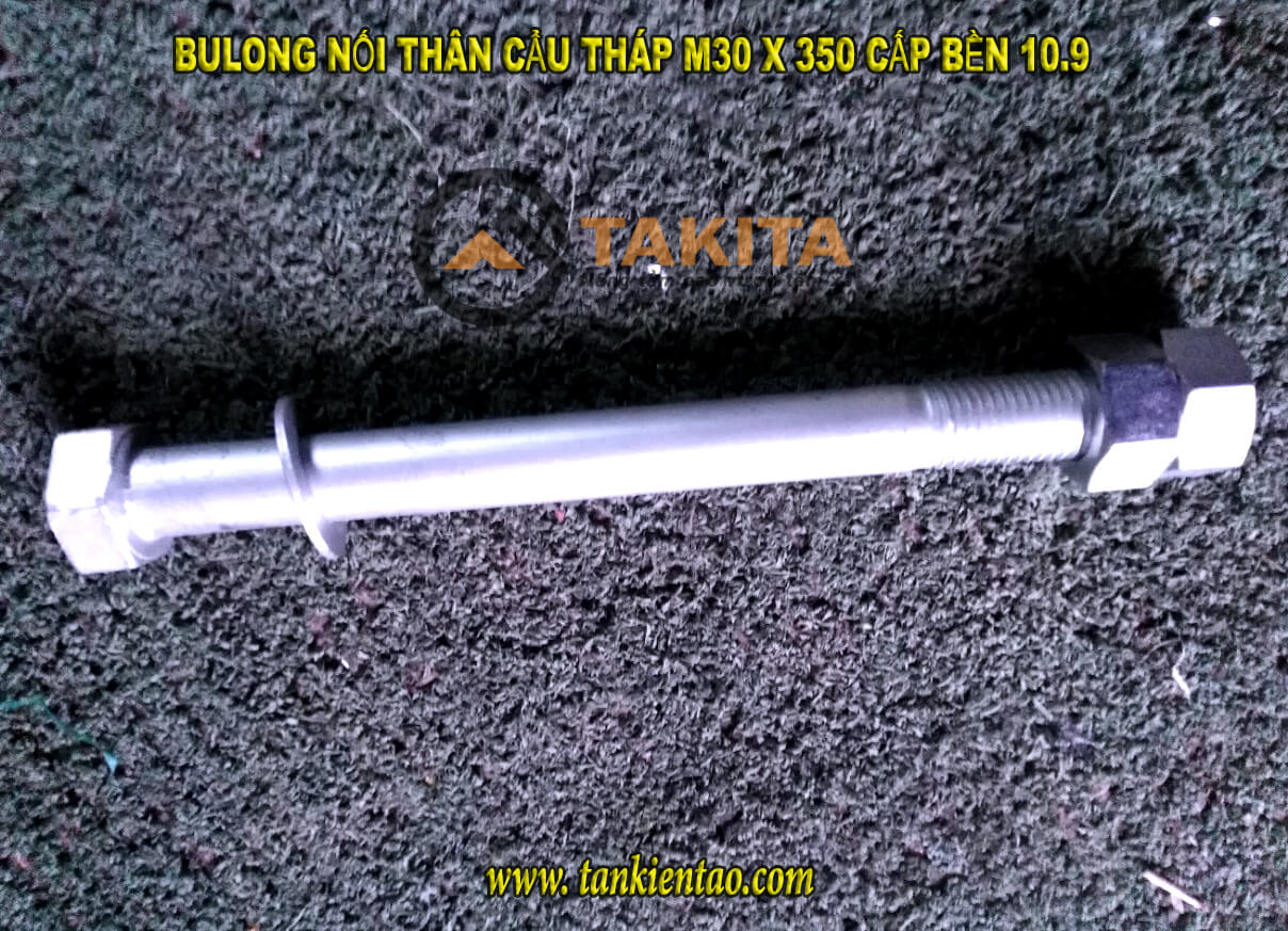Cấp Bulong thân cẩu m30x 350