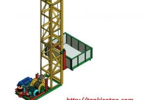 Vận thăng nâng hàng/ thang nâng hàng